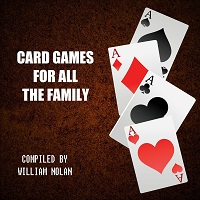 Front cover of the Card Games For All The Family book.